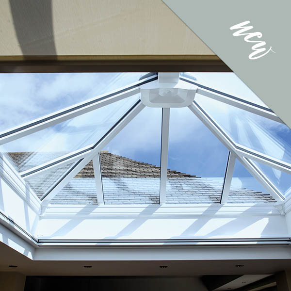 Fully motorised skylight and orangery roof Blinds from shutterstyle