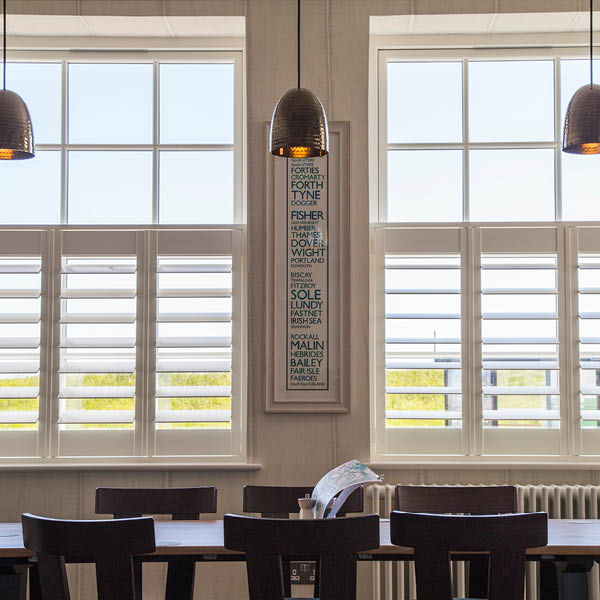 Whitley Bay cafe style shutters