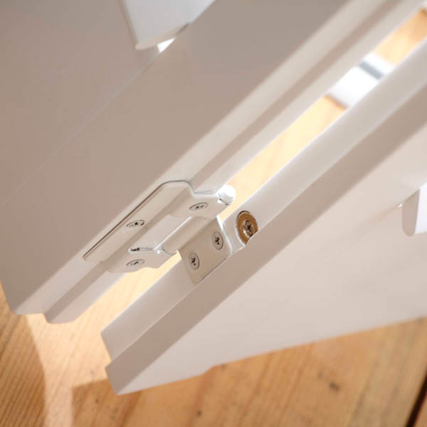 details of French window shutter