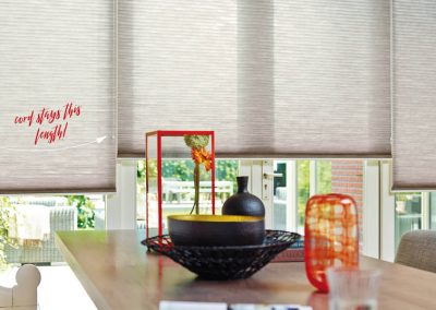 Constant Length Duette Blinds with Smartcord