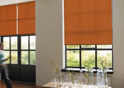 Translucent Orange for a Warm Glow of Light