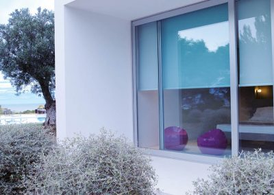 Blockout Roller Blinds From Outside