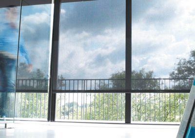 Maintain a View with Sheer Roller Blinds