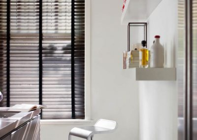 Dark Wood Venetian Wood Blind