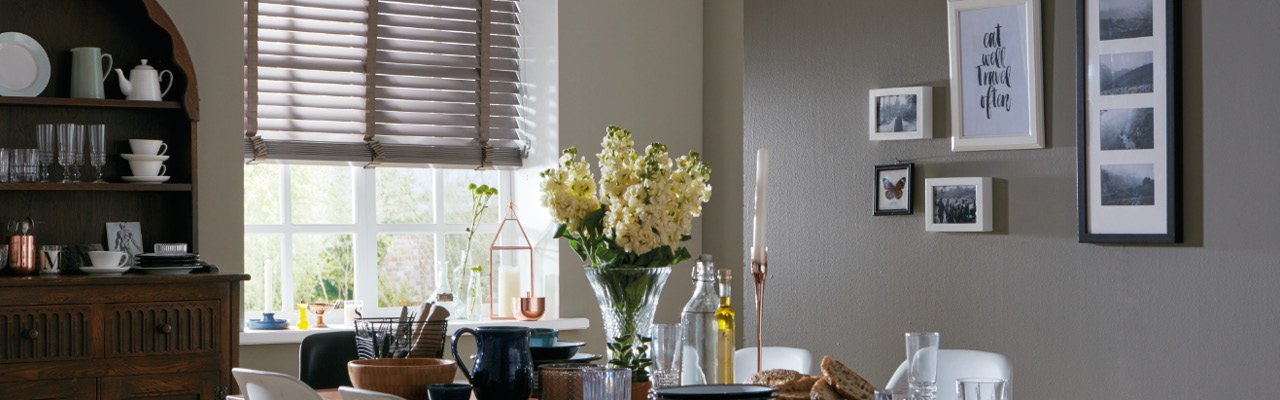Wood Blind in Truffle from Shutterstyle