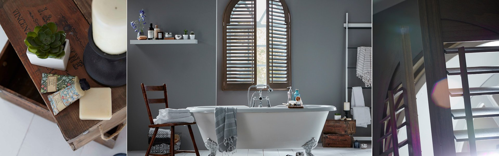 Shaped Shutters from Shutterstyle