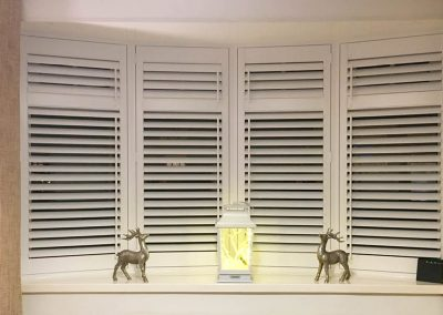 Offset tilt shutters in Jesmond